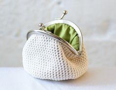 Crochet coin purse♥