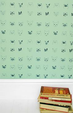 Baines&Fricker | Wallpaper | Cats