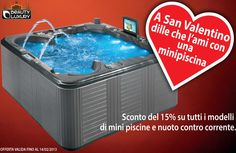 In Saint Valentine tell her you love her with Beauty Luxury hot tub!  http://beauty-luxury.com/