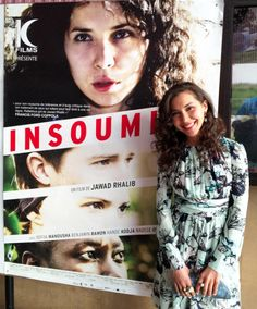 [Film Launch] French actress Sofiia Manousha in Isharya Temple Muse and Goddess jewels at the premiere of her recent film, Insoumise