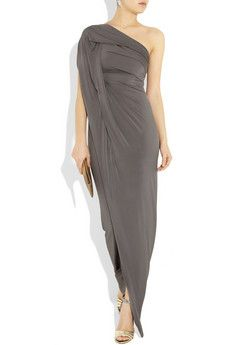 Donna Karan: Drapped Jersey Gown
