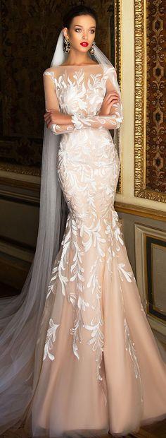 Wedding Dress by Milla Nova White Desire 2017 Bridal Collection - Carol