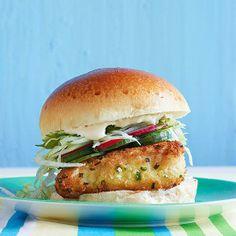 #30DaysOfBurgers, Day 29: Rachael Ray's Panko-Crusted Fishwiches with Wasabi Tartar Sauce
