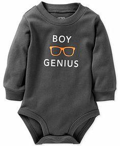 Carter's Baby Boys' Slogan Bodysuit