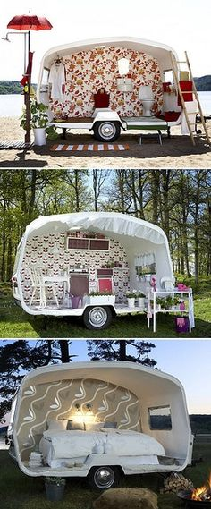 so creative. would love to drive across the country in one of these.