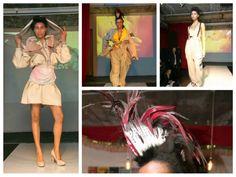 Matthew Luke Hair @Sarah McLain London Fashion Show. Hair by our session stylist Thaigo