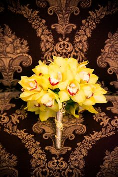 Indian Fusion Wedding from Allegro Photography + EFD Creative - Event Planning & Design Boston Florist, Yellow Orchid, Indian Fusion Wedding, Event Planning Design, Little Black Books, Wedding Couples, Floral Arrangements, Orchids, Wedding Flowers