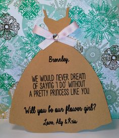 Will you be my bridesmaid/maid of by InnovativeGoodies on Etsy, $3.85