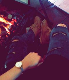 Ripped jeans by me