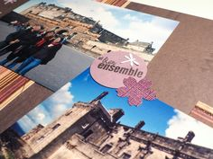 Une page de scrapbooking sur la ville de Stirling, en Écosse #scrap #diy #album #sibienensemble #chateau