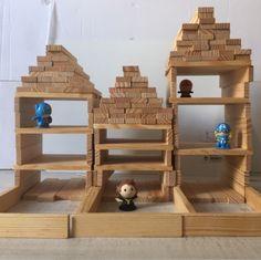Diy For Kids, Crafts For Kids, Creative Kids, Construction, School, Woodworking Toys, Kid Games, Building Block Games, Crafts For Children