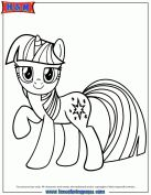 Free Printable My Little Pony Coloring Pages For Kids Cartoon
