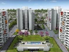Vatika One Express City is a 2-4 BHK apartment in sector 88B with 2 Master bedrooms in 3BHK and a Servant quarter in 2BH.
