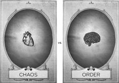 Brain versus heart = INFJ eternal struggle, and why we're known as the intellectual idealists