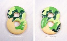 Camouflage Cookies, great way she does this, great for the boys.