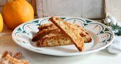 Biscotti med appelsin og marcipan