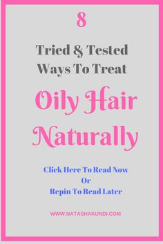natural oily hair home remedies