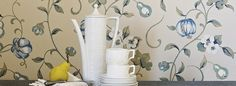 A Painters Garden Collection (source Sanderson) Wallpaper Australia / The Ivory Tower