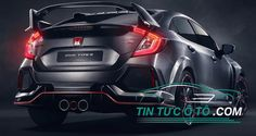 Nguyên mẫu chiếc Honda Civic Type R 2018 đoán đầu tương lai