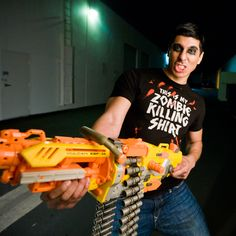 This Is My Zombie Killing Tee - Bloody tee on zomBtees!