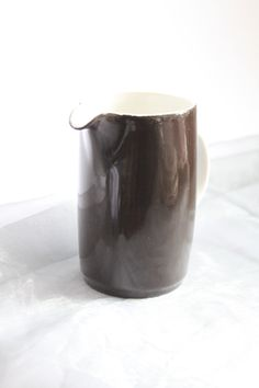 Royal Doulton Brown Block Colour Small Jug Mid Century Ceramic Kitchen Ware by AtticBazaar on Etsy Kitchen Ware, Royal Doulton, Sale Items, White Ceramics, Color Blocking, I Shop, Mid Century, Colour, Mugs