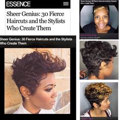 Honored  #EssenceMag #Essence #TheCutLife #Hair #Khimandi #Haircut #HairPorn by khimandi