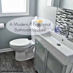 A Modern and Functional Bathroom Update (Ikea LILLÅNGEN )