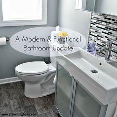 A Modern and Functional Bathroom Update (Ikea LILLÅNGEN )