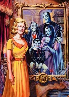 Munsters Tv Show, The Munsters, 60s Tv Shows, Old Shows, Herman Munster, Yvonne De Carlo, Horror Icons, Classic Monsters, Halloween 2