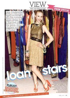Teen Vogue Editorial Loan Stars, April 2011 Shot #1