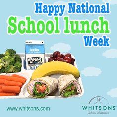 Happy National School Lunch Week!  #NSLW  www.whitsons.com