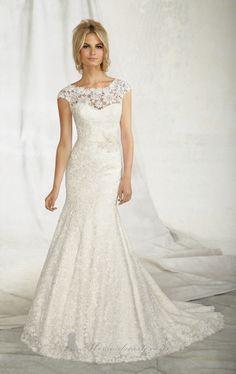 Mori Lee 'Angelina Faccenda' 1257 Size 4 Wedding Dress - Nearly Newlywed