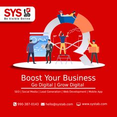 Year #2021 has given a new opportunity to scale up your business with the right marketing approach. If you are still struggling to generate revenue for your business, you must be missing out on a lot of opportunities. Let us help you to grow your business digitally with the most effective and growth-driven marketing strategy. Get free 30 mins business consultation. #marketing #digitalmarketing #performancedriven #growthhacking #growdigital #vocalforlocal #vocalforlocalindia #SysTab Facebook Marketing, Social Media Marketing, Digital Marketing, Website Development Company, Web Development, Marketing Approach, Google Ads, New Opportunities, Lead Generation