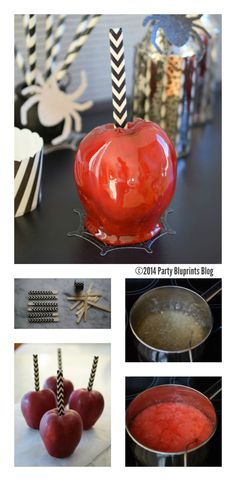 Poison Apple Halloween Treat! | PartyBluPrints.com