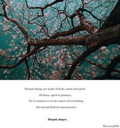 Deepak Chopra Quote On Body, Mind and Spirit