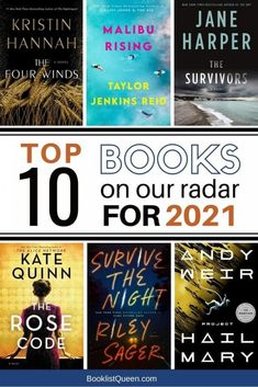 Looking for the best upcoming books of 2021? Find out my top 10 most-anticipated books to read in 2021. You are sure to find something great to read among these hot new book releases of 2021.