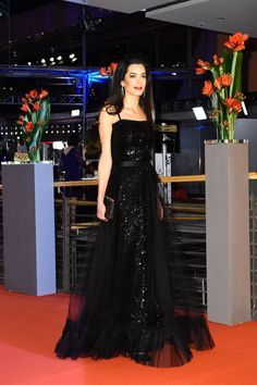 Someone Get Amal a Crown, Because She Looks Like a Princess in This Dress