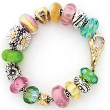 This bracelet reminds me of spring.  It's lovely.