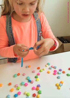 Origami sterren vouwen, zo vouw je stap voor stap lucky stars | Moodkids