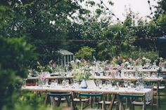 Outdoor Garden Wedding, Cornwall