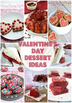 20 Valentine's Dessert Ideas {Link Party Features} I Heart Nap Time | I Heart Nap Time - Easy recipes, DIY crafts, Homemaking