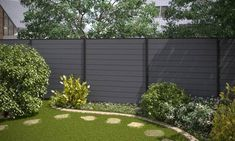 #wpc #fence #beautiful how to install wpc fence panel on concrete wall ,buy fence panels of  compound wood