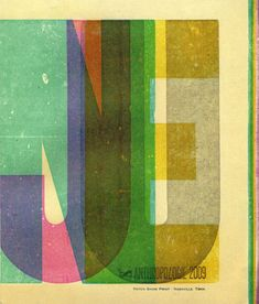 Hatch Show Print for Anthropologie (June 2009 Catalogue