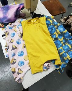 Sneak peak at our rompers set to launch! 🌌 Beyond is a collection inspired by the galaxy and allowing yourself to be taken away into imaginary play with your kids 👐 Our print collaboration with and has fi Gifted Kids, Surface Pattern Design, Toddler Fashion, Kids And Parenting, Wearable Art, Bermuda Shorts, Casual Shorts, Product Launch, Rompers