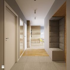 Setting up the hall – ideas and suggestions the hall … – Flur Entry Hallway, Entrance Hall, Hallway Ideas, Vestibule, House Lift, Luxury Interior, Interior Design, Upholstered Walls, Multipurpose Room
