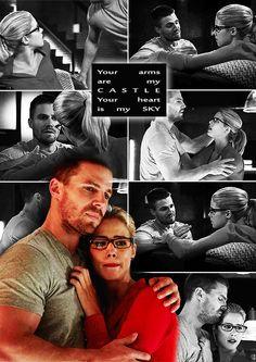 Oliver and Felicity | Arrow  #Olicity #Arrow