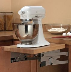 View the Hafele 504.20.900 Stand Mixer Lift Mechanism for 30 Lb Storage at PullsDirect.com.