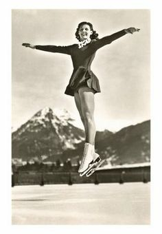 ice skate #vintage