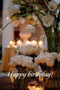 Happy Birthday Flowers Wishes, Happy Birthday Bouquet, Happy Birthday Floral, Happy Birthday Celebration, Birthday Wishes And Images, Birthday Roses, Happy Birthday Pictures, Happy Birthday Messages, Happy Birthday Greetings