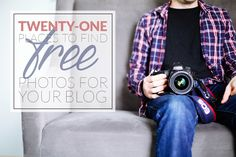 Twenty-one different places to find awesome free photos for your blog.